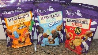 Cadbury Dairy Milk Marvellous Mixes with Maynards, Oreo & Ritz – Canada