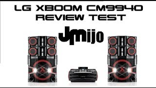 Nuevo LG XBOOM PRO CM9940 - Review Test
