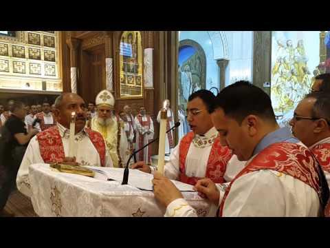 إنجيل عيد القيامة 2016 بكاتدرائية مارمرقس بالكويت