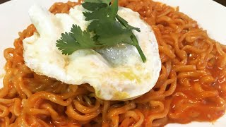 How to make the BEST Samyang SPICY CHEESY  Ramen Noodles