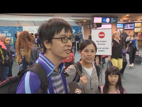 Travellers from Hong Kong recall terrifying airport scene