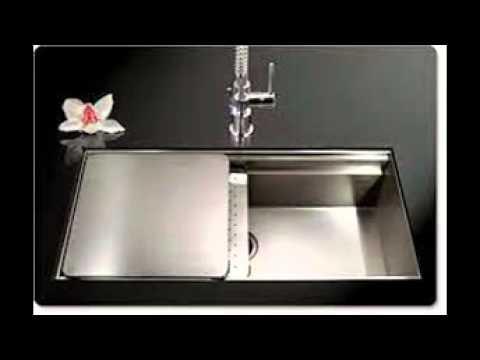Zero Radius Kitchen Sink - YouTube
