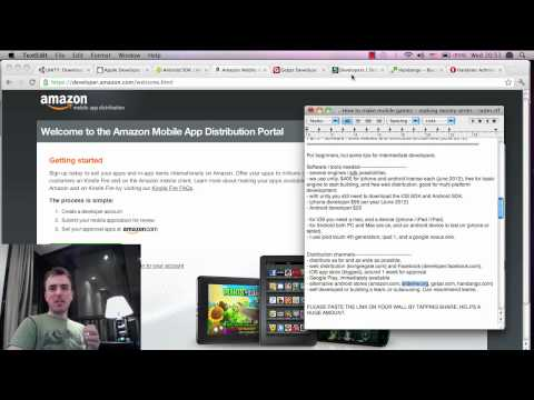 How to make money with mobile games - Part 3B - Building and Distributions