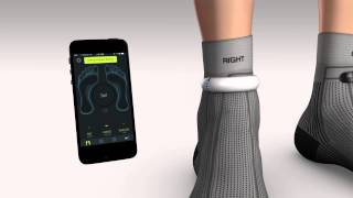 Sensoria Fitness Socks - how to wear the anklet