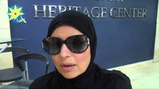 بالفيديو: زوجة الفنان خالد صالح من الأقصر ل أ ش أ : روحه لا تزال بيننا