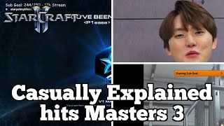 Daily Starcraft Highlights: Casually Explained hits Masters 3