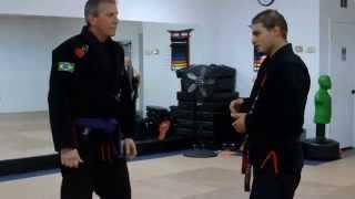 Haymaker Punch Self Defense against a Brawler