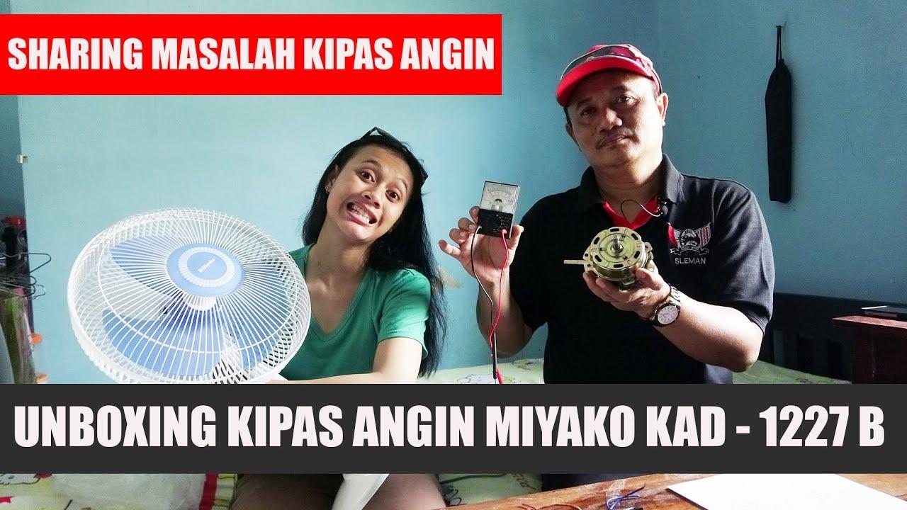 Unboxing Kipas Angin Miyako Kad