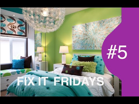 Interior Design |  Girls Bedroom Design | Fix It Fridays 5