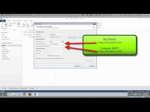 SmarterGeek  Outlook 2013  Bellsouth ATT AT&T Yahoo IMAP