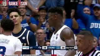 Zion Williamson vs Georgia Tech | 22 Pts, 7 Rebs | 1.26.19