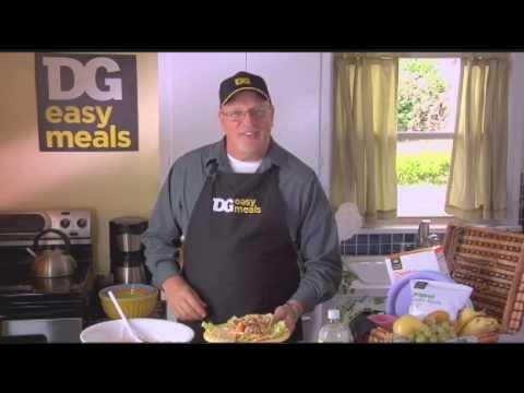 DG easy meals with Chef Clay -- Chicken Pasta Salad