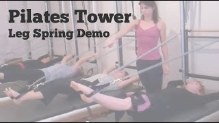 Pilates Tower Leg Springs - Mind Your Body, Upper East Side NYC