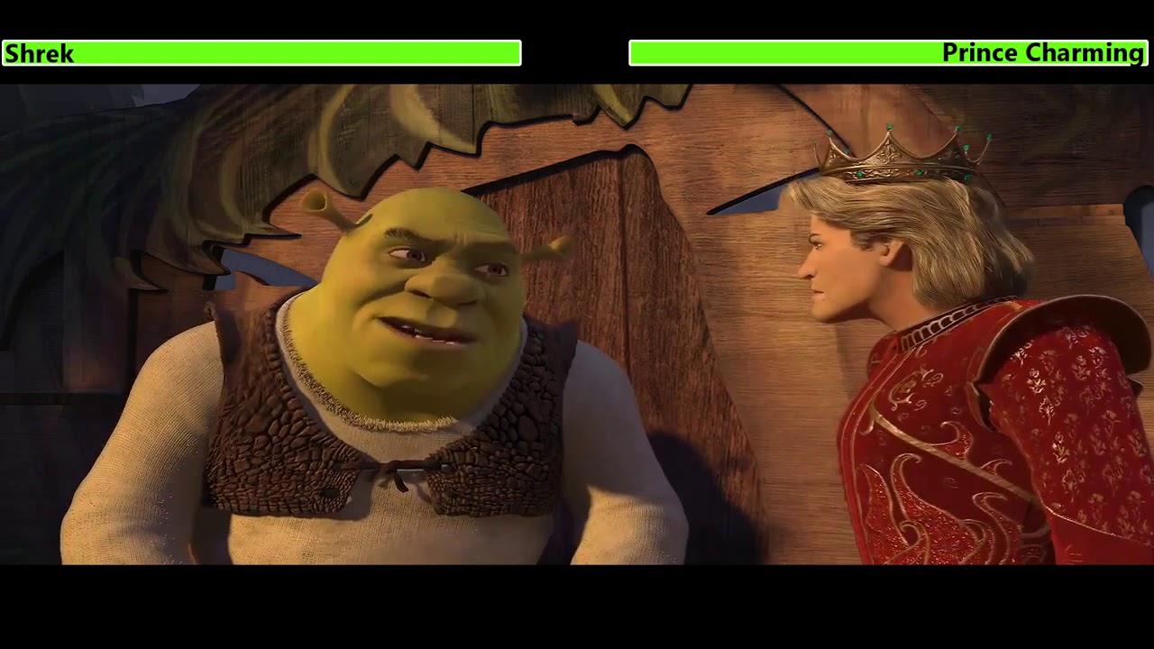 Download Shrek the Third (2007) Final Battle with healthbars