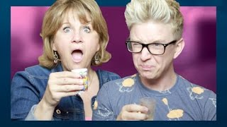 Getting Tipsy With Mama (ft. Queen Jackie) | Tyler Oakley