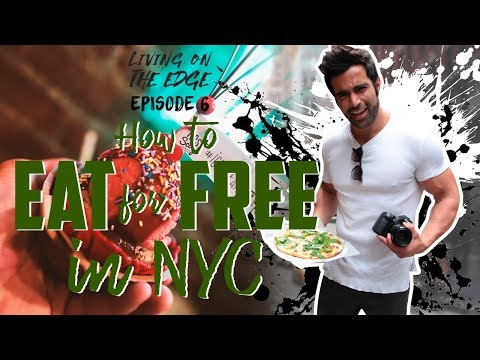 HOW TO EAT FOR FREE IN NYC (LIQUOR INFUSED ICE CREAM)
