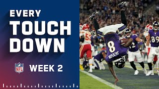 Every Touchdown Scored in Week 2   NFL 2021 Highlights