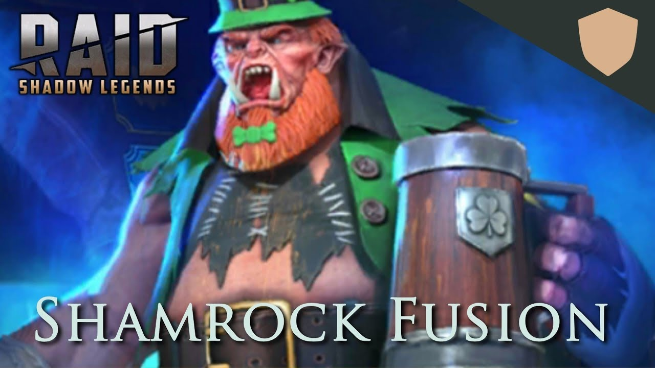 Shamrock limited time champion fusion in RAID: Shadow Legends