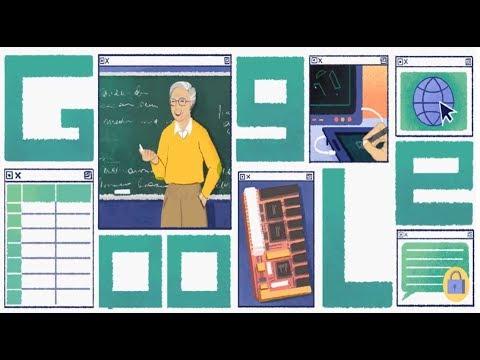 Michael Dertouzos: Google fetes computer scientist with doodle