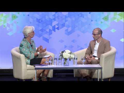 Yuval Noah Harari In Conversation with Christine Lagarde