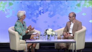 Yuval Noah Harari In Conversation with Christine Lagarde