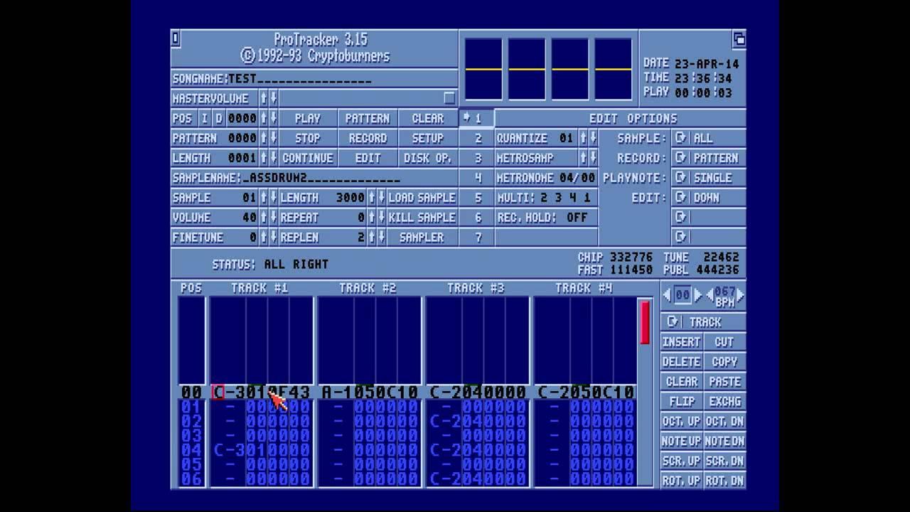 Amiga Hardware Programming 23 - Introduction to Protracker