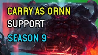 HOW TO CARRY AS ORNN SUPPORT - LEAGUE OF LEGENDS