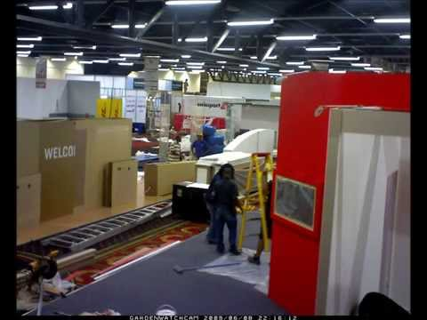 Build up of Air Cargo Africa 2013