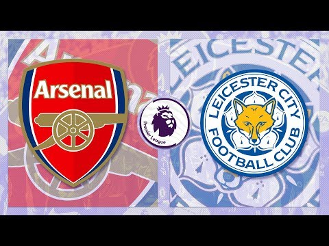 Match Day LIVE 2017/18 // Arsenal v Leicester City - Premier League