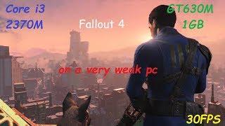 Fallout 4 на слабом ПК GT630