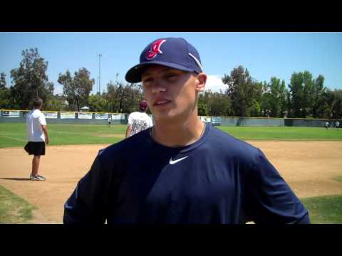17 Aug  2010, RBV grad.  Tony Wolters signs with Cleveland (Interview/video by Norb & Susan Schag)