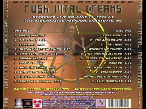 RUSH  VITAL DREAMS