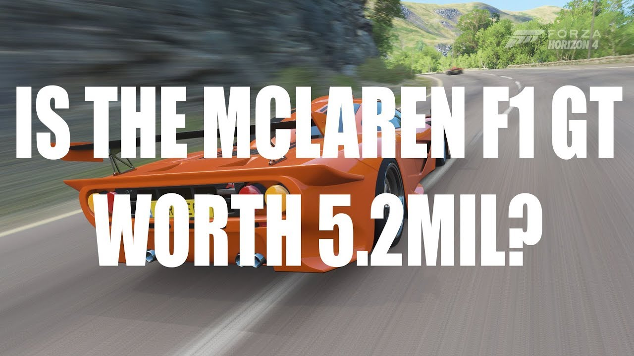 Forza Horizon 4: Is the McLaren F1 GT really worth 5 2mil?