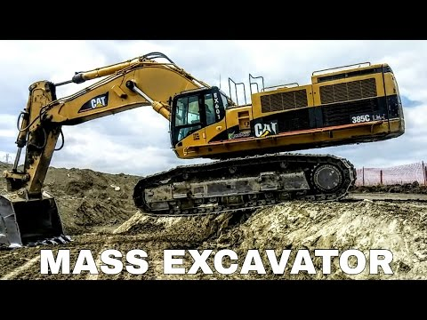 Caterpillar 385 Mass Excavator | LME Explained