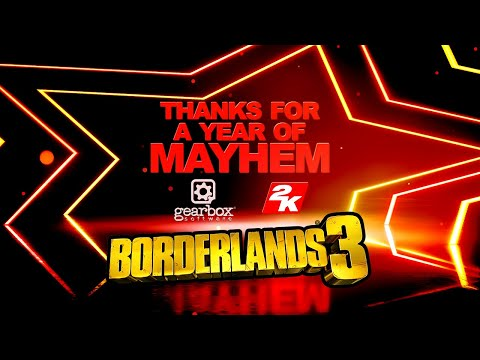 Thank You for One Year of Borderlands 3