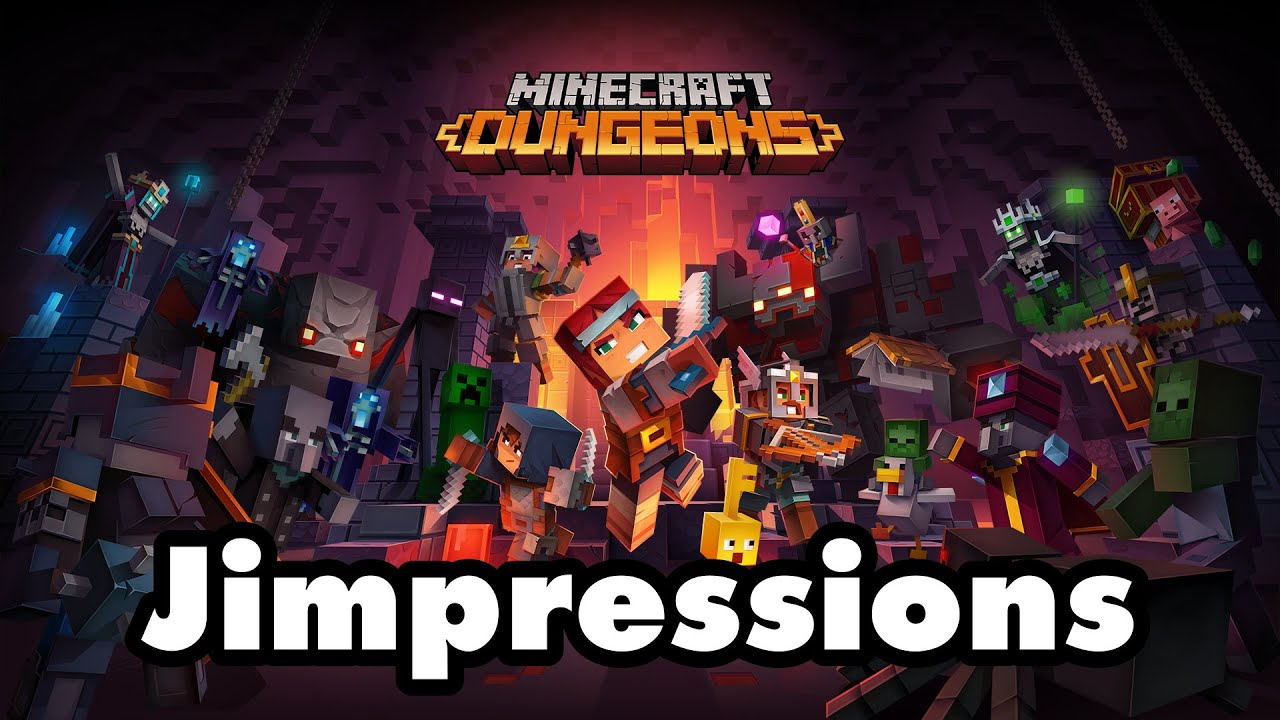 Minecraft Dungeons - A Patronizing Lack Of Imagination (Jimpressions)