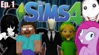 The Sims 4 - Creepypasta Theme - Ep. 1 (Create A Sim) thumbnail