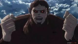 Levi derrota al Titan Bestia shingeki-no-kyojin