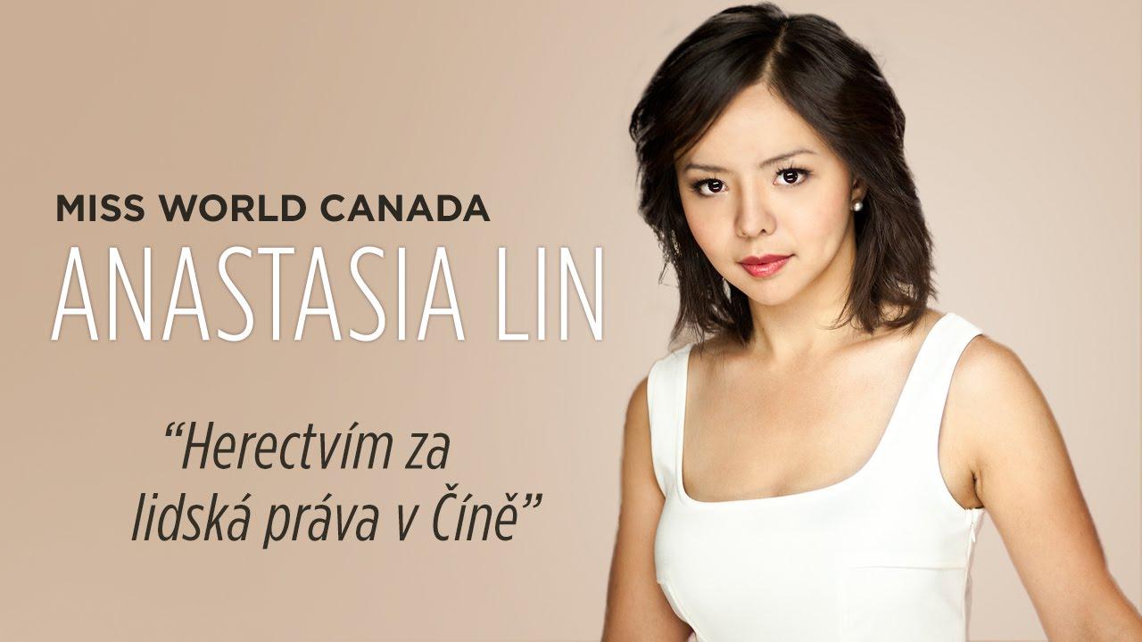 Anastasia Lin - obhájkyně lidských práv