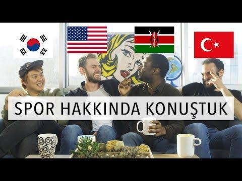 4 FARKLI ÜLKENİN SPORLARINI KONUŞTUK   3 Yabancı 1 Türk #7