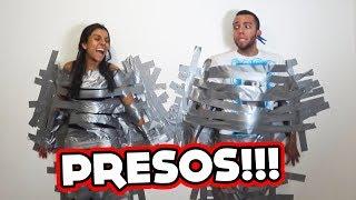 FICAMOS 6 HORAS PRESOS POR FITA SILVER TAPE!!!
