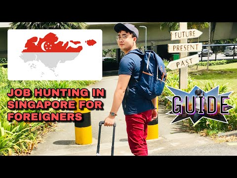 HOW TO DO JOB HUNTING IN SINGAPORE AS FOREIGNER (PERSONAL EXP/TIPS)