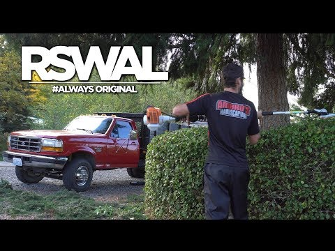 Using The New Stihl HL-KM Adjustable Hedge Trimmer! | RSWAL Ep. 34