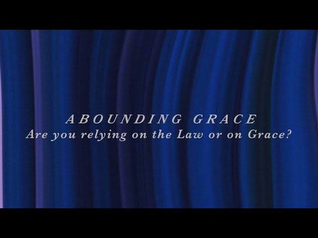 Are you relying on the Law or on Grace? | Sam P. Chelladurai | Sunday Service | AFT Church