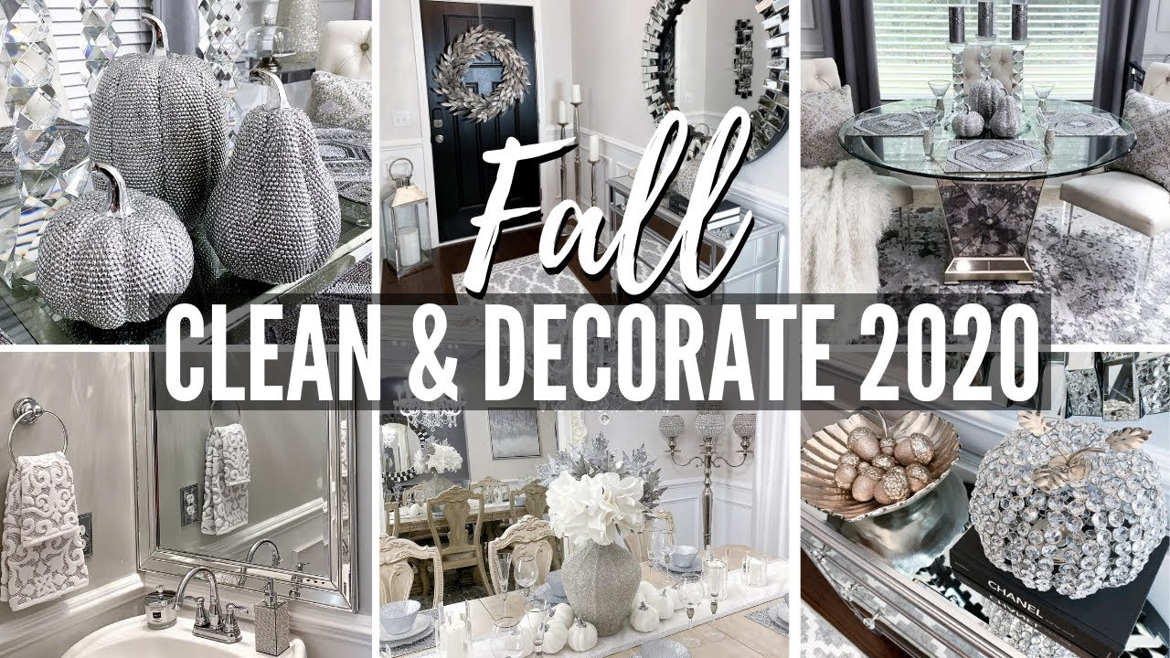 FALL CLEAN AND DECORATE WITH ME 2020! Ultimate FALL Decorating Ideas & Dollar Tree Cleaning Hacks