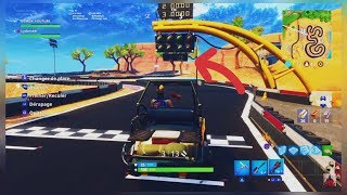 BUGGY COURSE ALL TERRAIN ON FORTNITE BATTLE ROYALE!