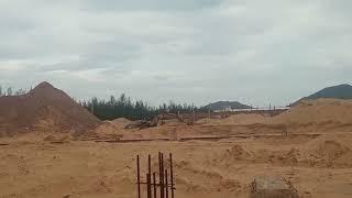#Shorts Máy xúc đào lấy cát xây dựng