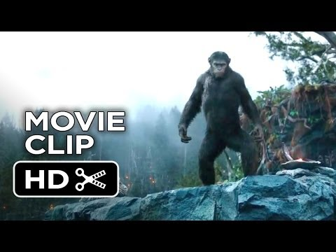 Dawn Of The Planet Of The Apes Movie   Speak to Caesar 2014  SciFi Action Movie HD