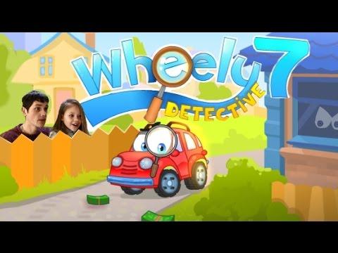 Игра Вилли 7 Детектив прохождение в виде мультика про машинку Уровень 1-9
