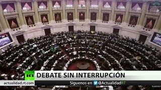 Argentina: El Congreso debate la despenalización del aborto